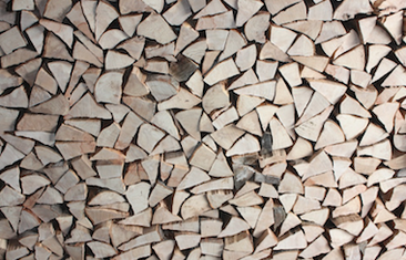 The wood pile can keep you warm if your chimney service is up to day. Omaha Nebraska.
