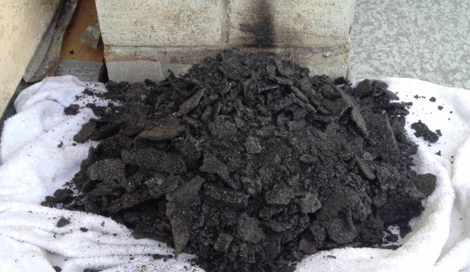 This is what can come out of your chimney if not cleaned yearly in Omaha.